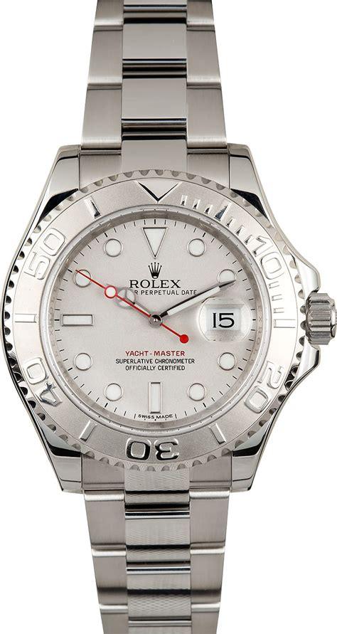 Rolex Yacht-Master 116622 Platinum Dial