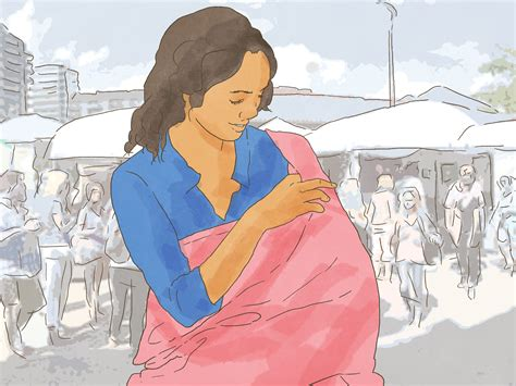 How To Breastfeed In Public 10 Steps With Pictures