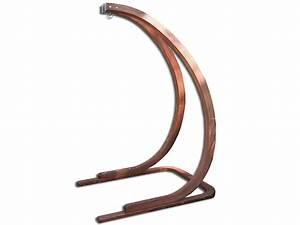 Support Chaise Hamac : support pour chaise suspendue megara en eucalyptus fsc ~ Melissatoandfro.com Idées de Décoration