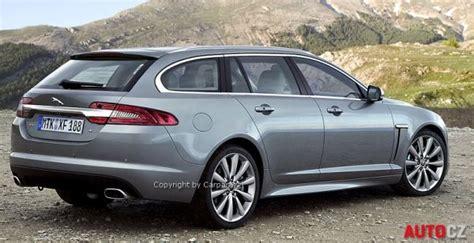 jaguar xf render della station wagon sportbrake