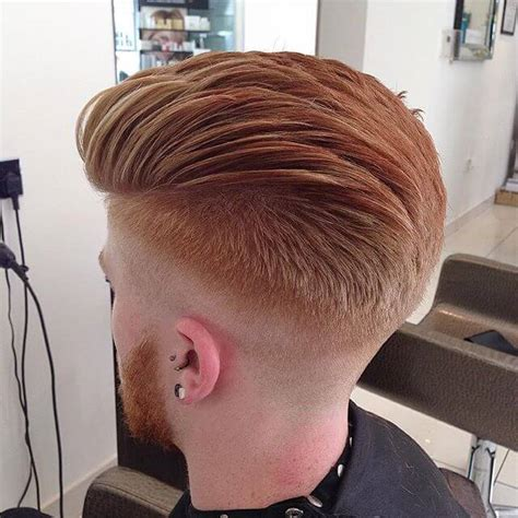 amazing skin fade pompadour  james beaumont hairstyles