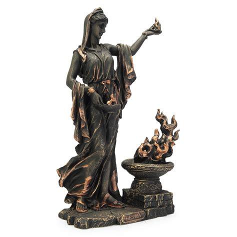 Estátua Resina Hestia Deusa Grega do Lar e da Família no Elo7   M3 Decoração (1113496)
