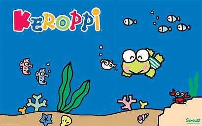 Keroppi Sanrio Characters Wallpapers Desktop Character Backgrounds
