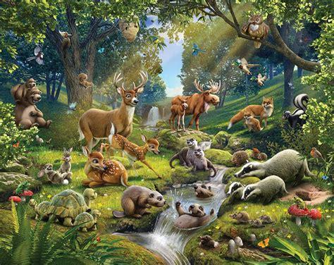 coussins de chaises de jardin acheter le papier peint enfant animaux de la forêt