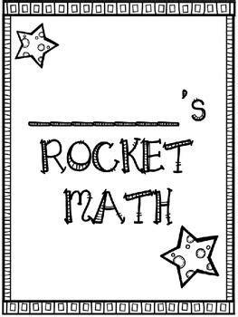 rocket math coloring sheet  coloring pages