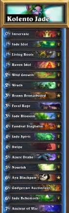 hearthstone druid deck august 2017 hearthstone jade druid guide esports edition
