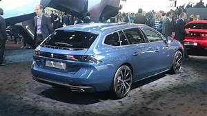 Peugeot 508 Motorisation : peugeot 508 sw break de charme video en direct du mondial de paris 2018 ~ Dallasstarsshop.com Idées de Décoration