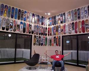 What is the best way to hang a skateboard deck on the wall ...