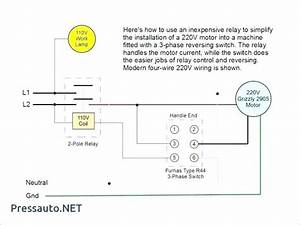 Single Phase Reversing Contactor Wiring Diagram