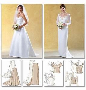 wedding dress pattern butterick 4131 size 12 14 16 With butterick wedding dress patterns