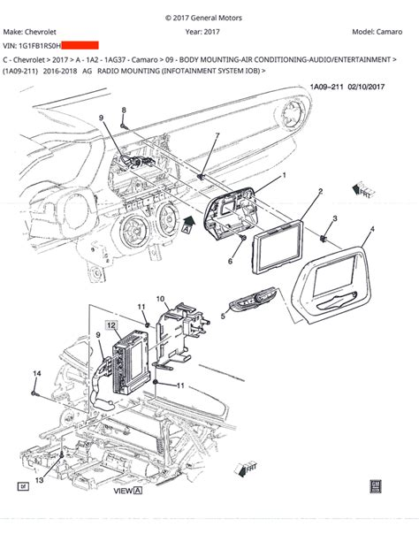 2013 Chevy Camaro Wiring Diagram by 2017 1lt R S Stereo Location W Wiring Diagrams Camaro6
