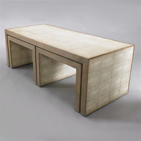 Avedon Nesting Coffee Tables  Modern  Coffee Tables By