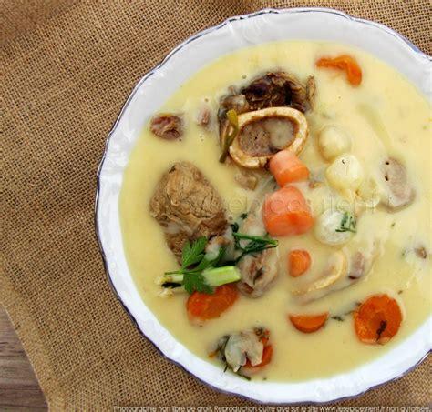 recette de cuisine blanquette de veau blanquette de veau à l ancienne recette de ma grand