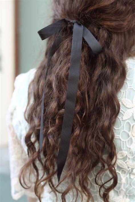 Best 25 Ribbon Hairstyle Ideas On Pinterest
