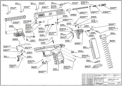Walther P99 Parts Diagram 28 Images Walther P99 Walther P99