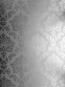 Silver Metallic Wallpaper - WallpaperSafari