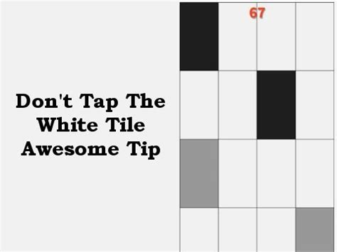 don t tap the white tiles don t tap the white tile piano tiles awesome tip