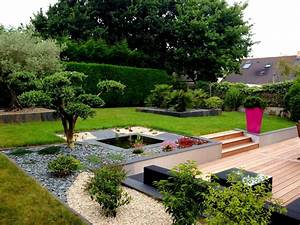 plantation massif 1jpg 1440x1080 exterieur With jardin en pente amenagement 8 jardin de ville contemporain jardin paris par