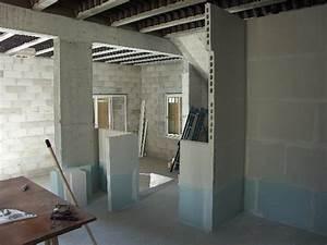 Pose D Un Faux Plafond En Ba13 : faux plafond ba13 sur hourdis plastique forum isolation ~ Melissatoandfro.com Idées de Décoration