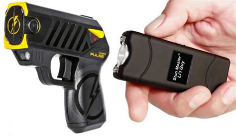 Difference Between Stun Gun And Taser