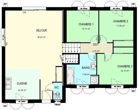 plan maison demi niveau 4 chambres construction 86 fr gt plan maison demi sous sol