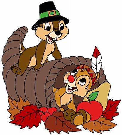 Thanksgiving Disney Dale Clipart Chip Clip Mickey