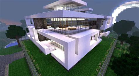 Plan Maison Minecraft Moderne