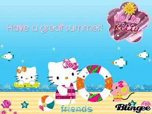 Summer-Kitty and friends Fotografía #92434361 | Blingee.com