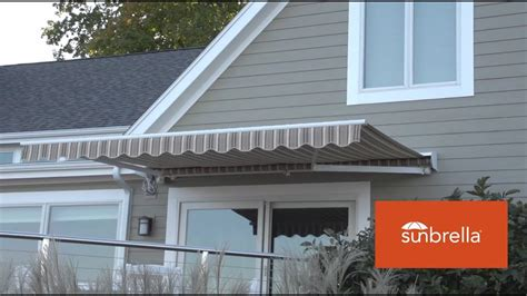 retractable awning panel youtube