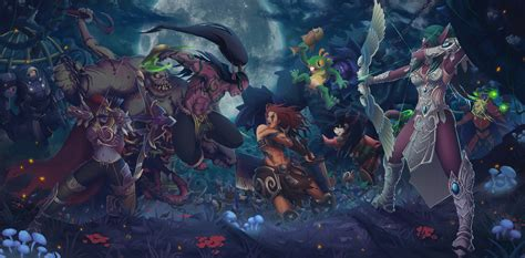 Anime Heroes Wallpaper - wallpaper anime heroes of the sylvanas