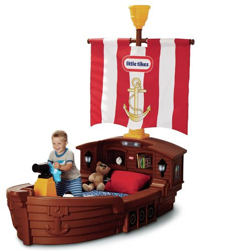 Tikes Pirate Ship Bed tikes pirate ship toddler bed kidsdimension