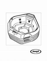 Tub Drawing Getdrawings Whirlpool sketch template