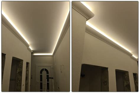 Led Beleuchtung by 2 Meter Led Profil Pu Stuckleiste F 252 R Indirekte