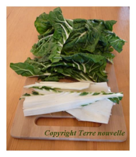 cuisiner les feuilles de blettes mobilier table avril 2014