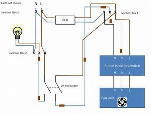 Fused  Timed Extractor Fan Wiring