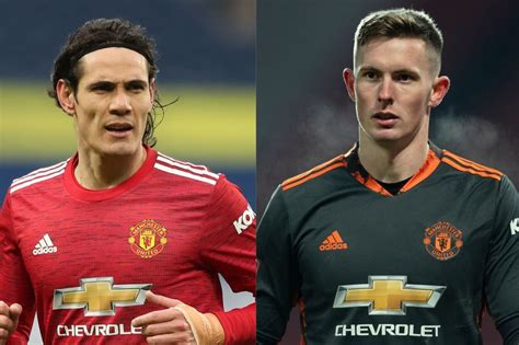 Dean Henderson and Edinson Cavani start - Manchester ...