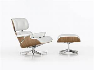 Eames Chair Lounge : buy the vitra eames lounge chair ottoman white at ~ Buech-reservation.com Haus und Dekorationen