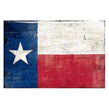 texas flag glass coat destinations cityscapes art