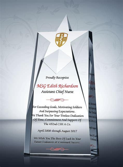 nurse retirement recognition awards pastors appreciation