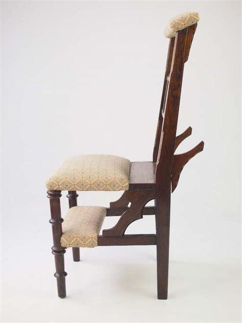 victorian metamorphic prayer chair  sale