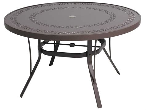 Coffee Tables : Outdoor Coffee Table With Umbrella Hole Design