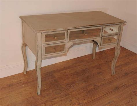 bureau writing desk mirrored pedestal desk bureau plat writing