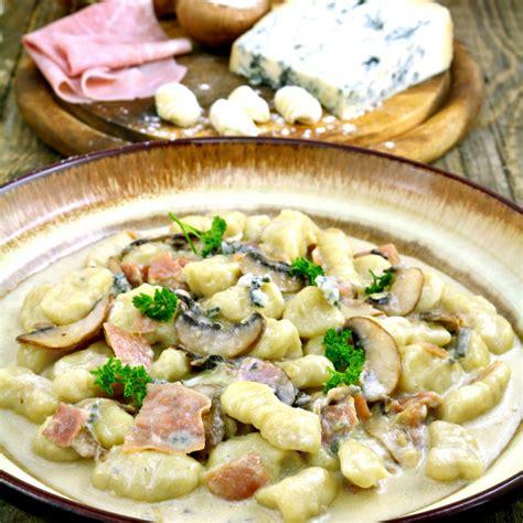 gnocchi sauce recipes pumpkin gnocchi in a creamy gorgonzola sauce recipe dishmaps