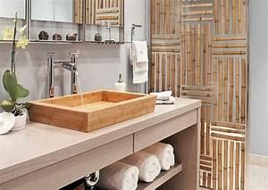 Meuble Sdb Pas Cher : comment cr er une salle de bain zen ~ Teatrodelosmanantiales.com Idées de Décoration