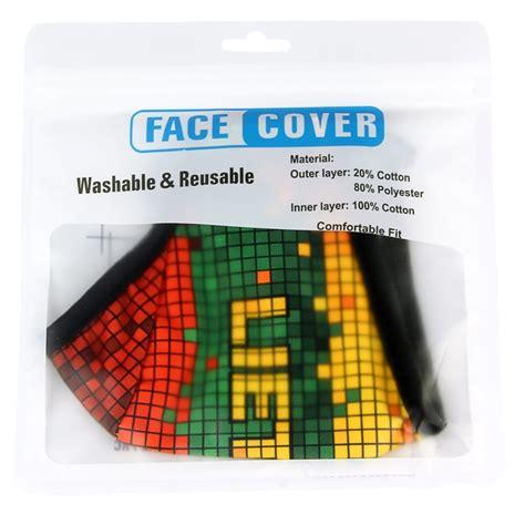 Išskirtinio dizaino veido kaukė Lietuva pikselis, kaina ...