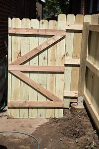 wood fence gates DIY Wood Privacy Fence with Accent Lighting | Hammer & Moxie