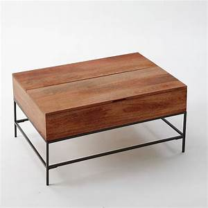 rustic storage coffee table cafe west elm must have With west elm rustic storage coffee table