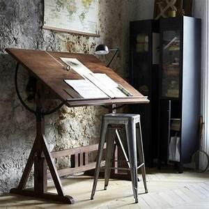 Bureau Style Industriel : id es de d coration d 39 un bureau style industriel ~ Teatrodelosmanantiales.com Idées de Décoration
