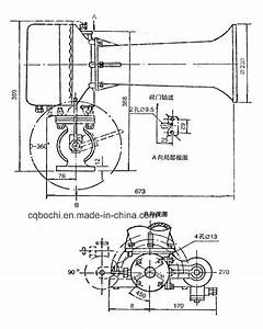 China Marine Manual Electronic Fog Horn Cb881-84
