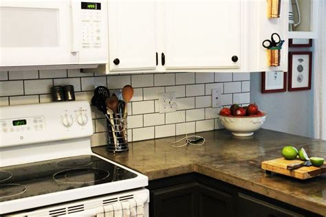 how to install a tile backsplash in kitchen how to install a subway tile kitchen backsplash